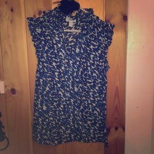LOFT blouse size M